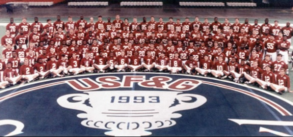 1991 1992 alabama football roster size