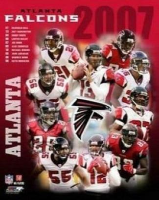 2007 atlanta falcons roster size