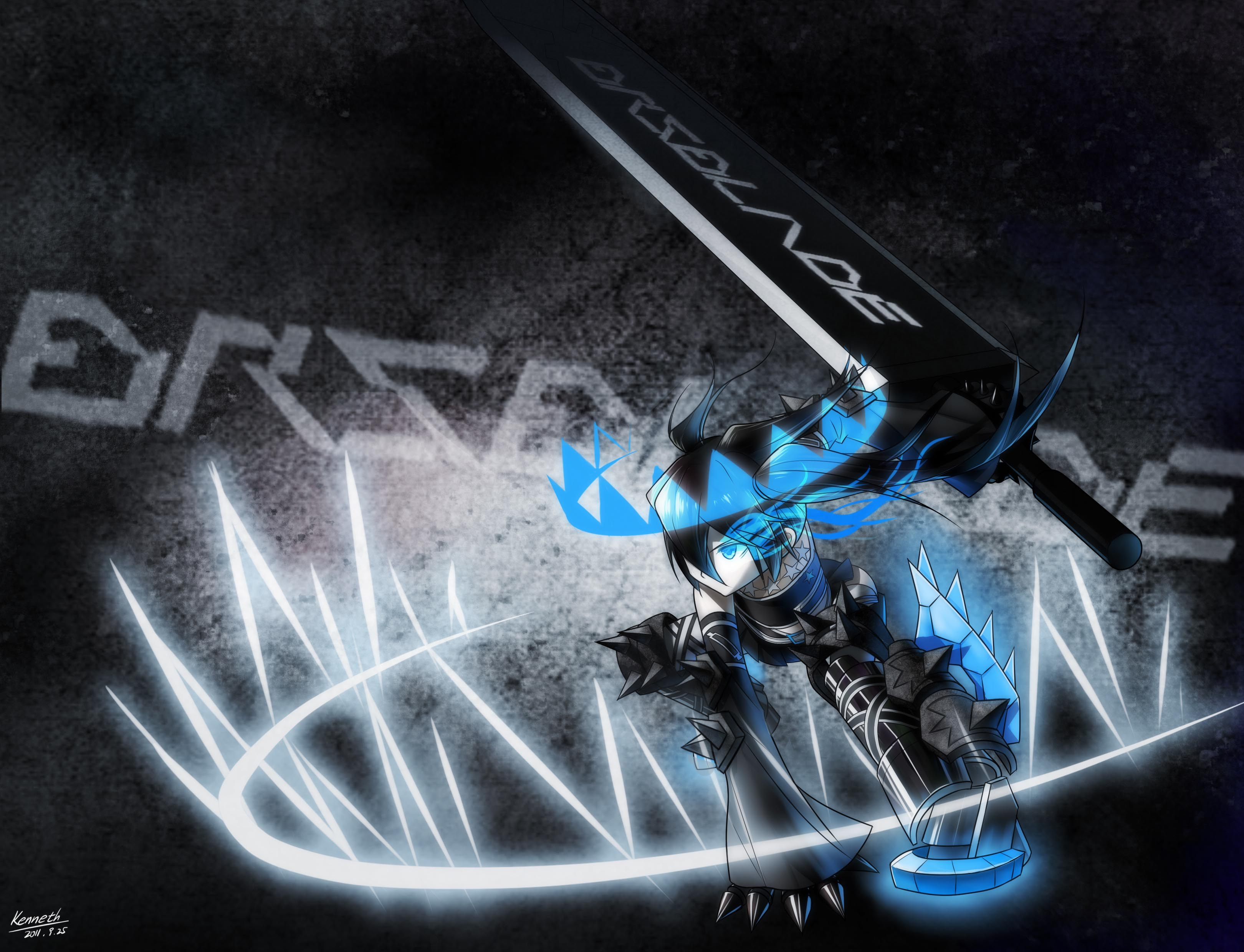 black rock shooter the game english size1491.8KB
