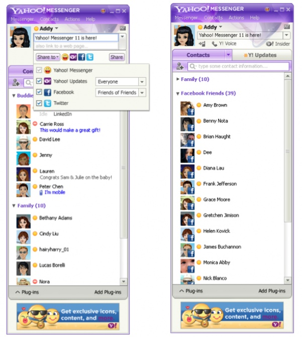 free download yahoo messenger 60 version size16.4KB