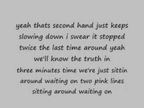 new pink song perfect lyrics size