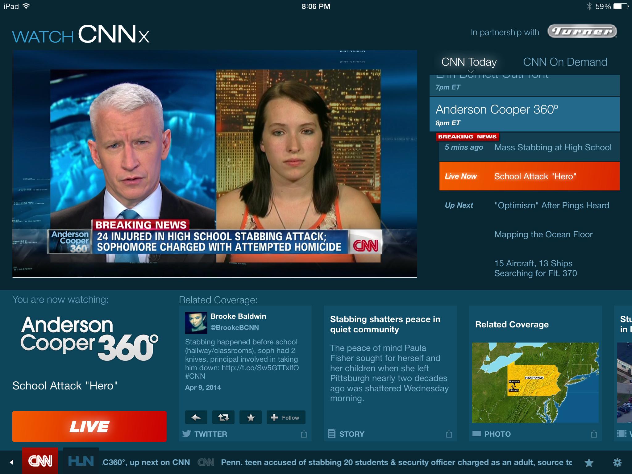 watch cnn live stream for ipad size24.7KB